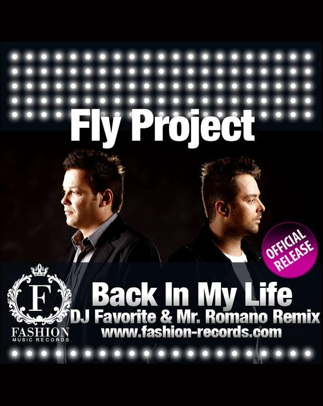 Back In My Life (Radio Edit) Fly Project