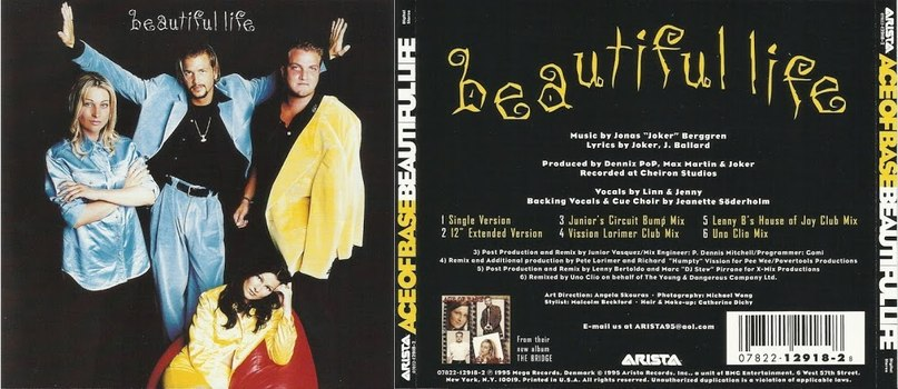 Beautiful Life Ace of base